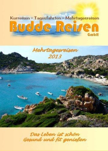 Erlebnisreise - Budde-Reisen