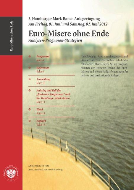 Euro-Misere ohne Ende - GO-AHEAD