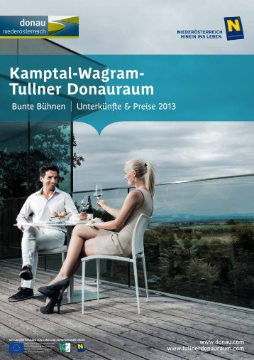 Informationsbroschüre Tullner Donauraum-Wagram
