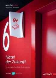 Leseprobe zu - Hotel der Zukunft - DEHOGA Shop