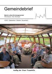 Gemeindebrief - Martin-Luther-Gemeinde Ehlershausen-Ramlingen ...