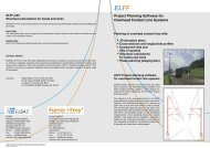ELFF Project Planning Software for Overhead ... - ELBAS Schweiz AG