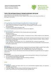 Deutsch - ZGS - Bergische Universität Wuppertal