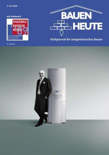 Fachjournal für zeitgenössisches Bauen - Elektro-Ingenieure Meyer ...