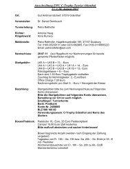 Ausschreibung EWU C-Trophy-Turnier Overath - Wittelsbuerger