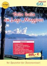 Der Lago Maggiore - SKAN-TOURS Touristik International GmbH