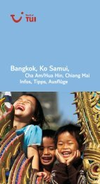 TUI - Infos, Tipps, Ausflüge: Bangkok, Ko Samui - GIATA GmbH