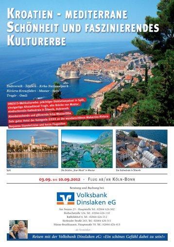 kroatien - Volksbank Dinslaken eG