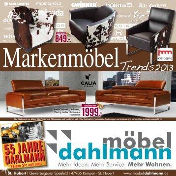 55 Jahre - Möbel Dahlmann