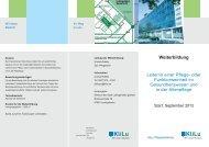 Flyer WB Leitungskurs - Klinikum der Stadt Ludwigshafen