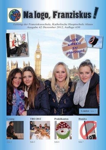 Wir Waren in London! - Franziskusschule