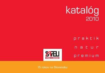 SAPELI KATALOG 2010 SK FINAL.indd - Atipic design