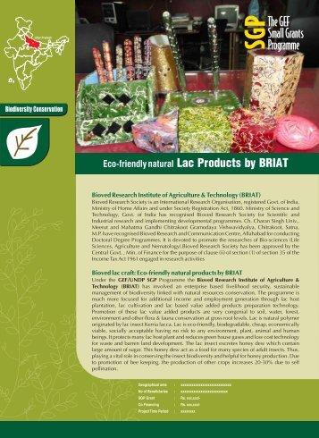 Bioved-Product Leaflet - SGP India