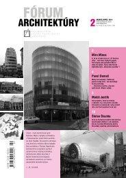Fórum architektúry 2/2011 - Spolok architektov Slovenska