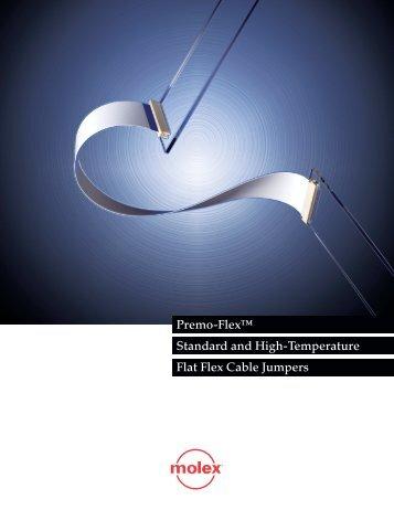 Premo-Flex™ Standard and High-Temperature Flat Flex Cable ...