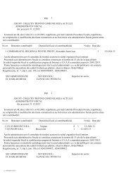1 ANUNT COLECTIV PRIVIND COMUNICAREA ACTULUI ... - ANAF