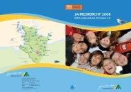 JAHRESBERICHT 2008 - Deutsches Jugendherbergswerk