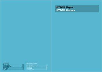 HITACHI Nagler HITACHI Cloueur - EMM Tools Gmbh