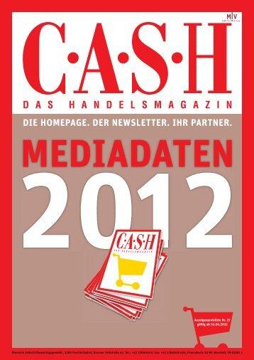DIE HOMEPAGE. DER NEWSLETTER. IHR PARTNER. - Cash