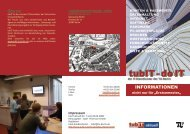 No. 8 (PDF, 5,5 MB) - tubIT - Technische Universität Berlin