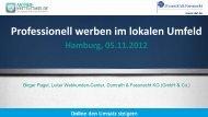 Die PowerPoint-Vorlagen. - Antrieb Mittelstand