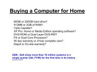 Buying A Computer For Home