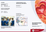 Herzkatheterlabor ebersberg - Kreisklinik Ebersberg GmbH