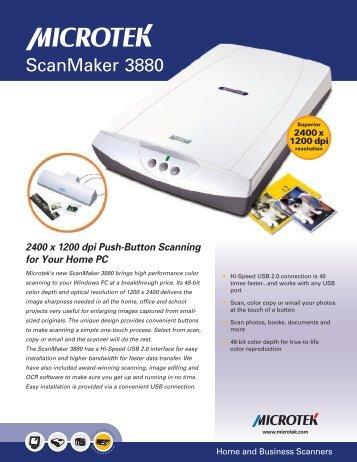 FREE MICROTEK SCANMAKER 3880 WINDOWS 10 DRIVERS