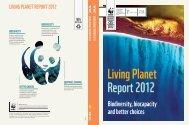 Living PLanet RePoRt 2012 - WWF