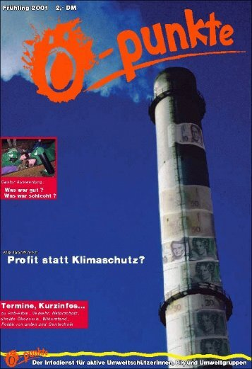 Klimaschutz - Projektwerkstatt