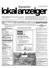 GERMANN TIEFBAU GmbH - in der Gemeinde Egnach