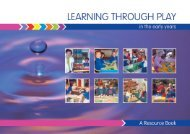 (PDF) Foundation Stage, Early Years: Learning Through Play
