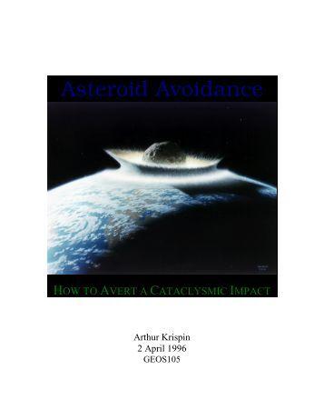 asteroid impact avoidance - photo #14