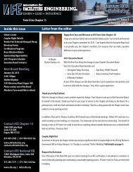 January 2013 Newsletter - AFE - Twin Cities