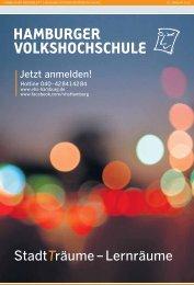 StadtTräume – Lernräume - Hamburger Volkshochschule