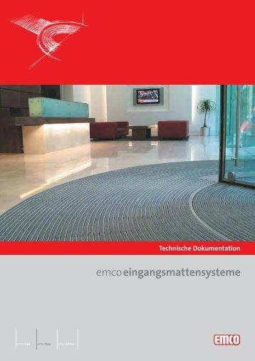 Empfehlung: Außenbereich (Zone 1) Belastung - Emco