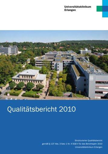 strukturierten Qualitätsbericht 2010 der Fachabteilung - Kliniken.de