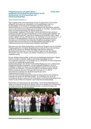 Pflegenachwuchs mit guten Noten - Kliniken St. Elisabeth