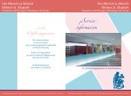 Service- information - Kliniken St. Elisabeth