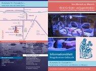 Informationsblatt - Kliniken St. Elisabeth