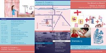 Station 13 - Kliniken St. Elisabeth