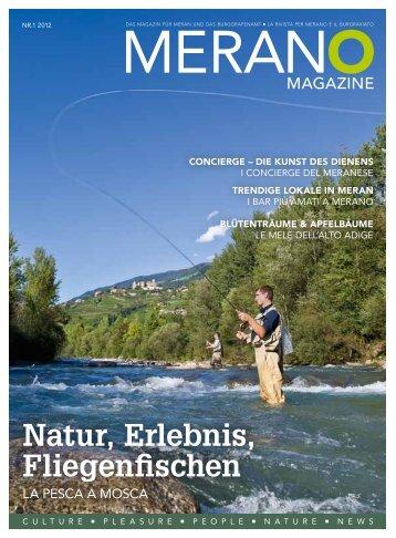 Merano Magazine - Sommer 2012