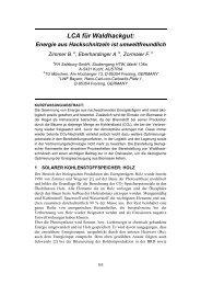LCA für Waldhackgut: - Fachhochschule Salzburg
