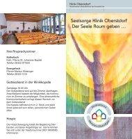Seelsorge Klinik Oberstdorf Der Seele Raum geben …