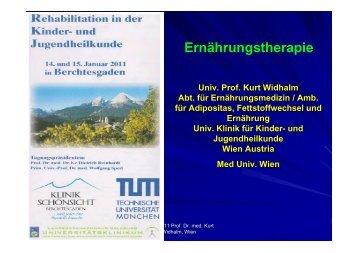 Prof. Dr. K. Widhalm