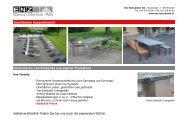 Granittische Aussenbereich - Enz Natursteine AG