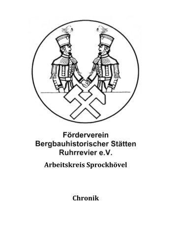 Chronik - Bergbauhistorischer Arbeitskreis Wetter/Ruhr