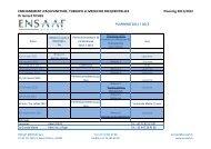 ENSEIGNEMENT d'Acupuncture, THERAPIE et ... - ENSAAF