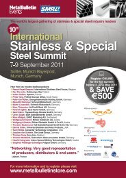 International Stainless & Special - Metal Bulletin Store
