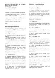 RGLEMENT D'APPLICATION DU CONTRLE DES TUDES ... - EPFL